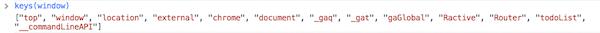 command line API