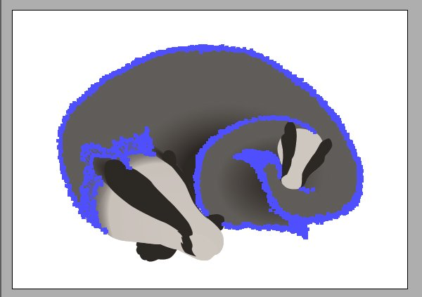 Add fur around the edges
