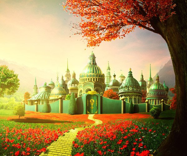 Look the Emerald City of Oz