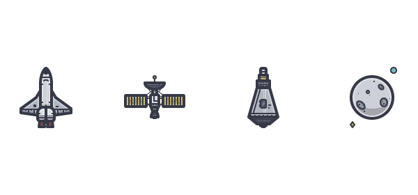 Final four icons
