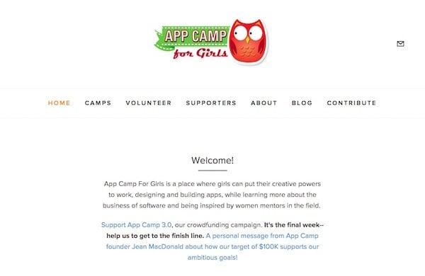 App Camp For Girls