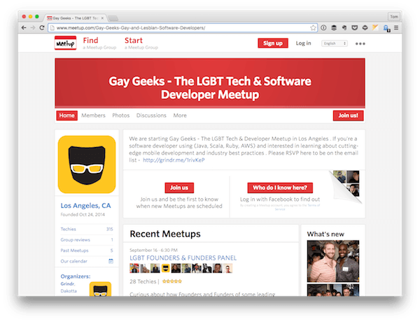 Gay Geeks Gay and Lesbian Developers