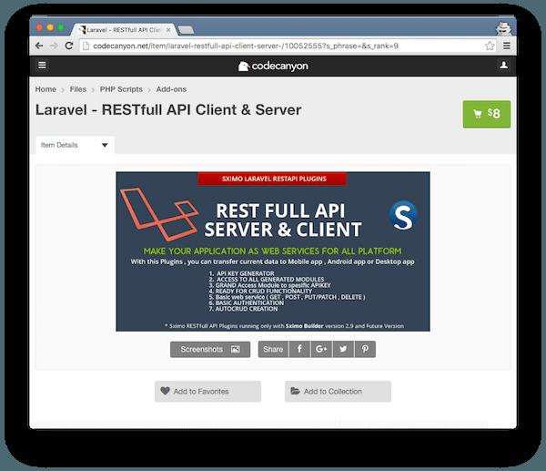 RESTfull API Client and Server