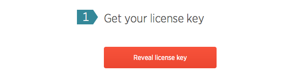 Get your license key