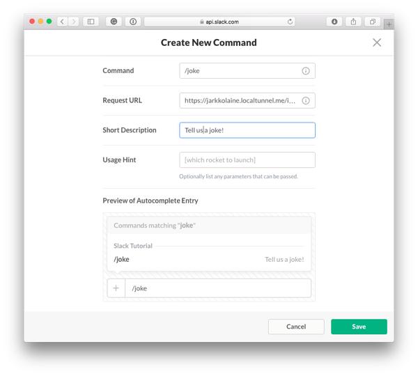 Create New Command