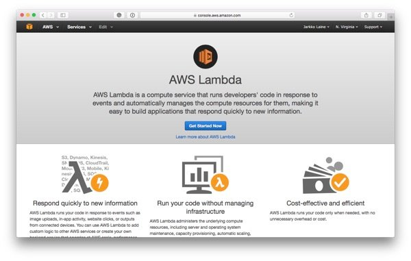 Get Started with AWS Lambda