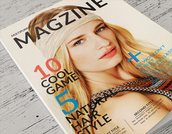 Natural InDesign Magazine Template