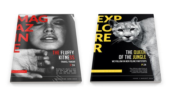 How to Make a Magazine From a Creative Indesign Template