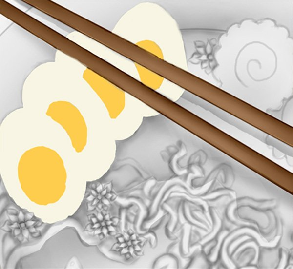Color your Ingredients and Chopsticks