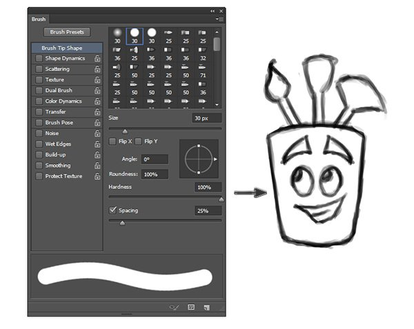 Get to Know the Brush Panel in Photoshop