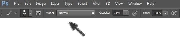 Painting Mode for Brushes in Photoshop