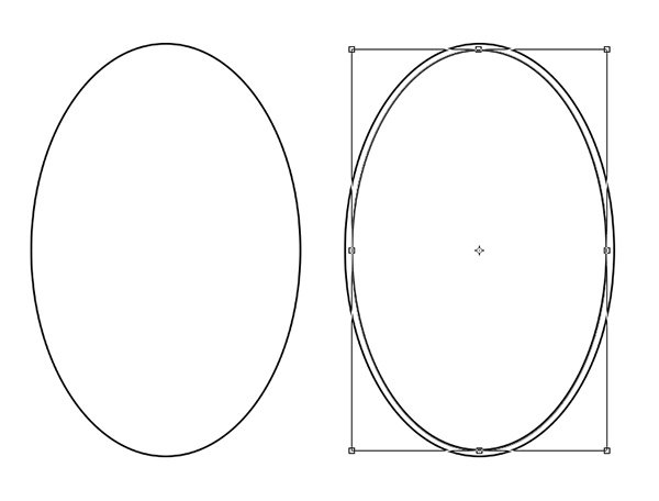 Use the Ellipse Tool to Create the Frame