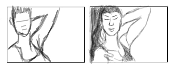 Loose Versus Detailed Thumbnail Drawings
