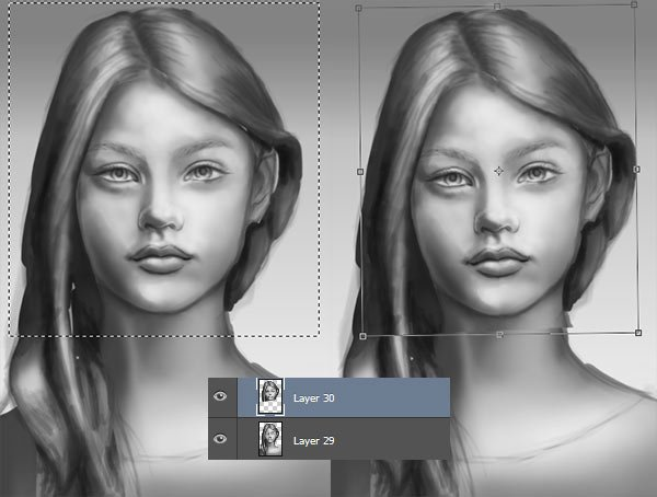 Use the Marquee Tool to Fix Portraits in Photoshop