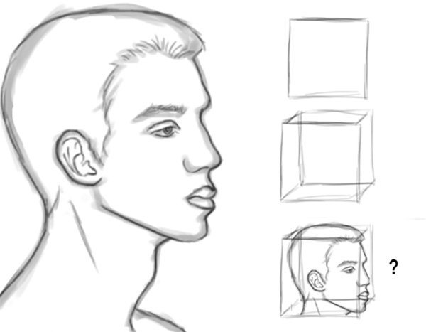 Drawing Heads with Cubes or Squares in Photoshop