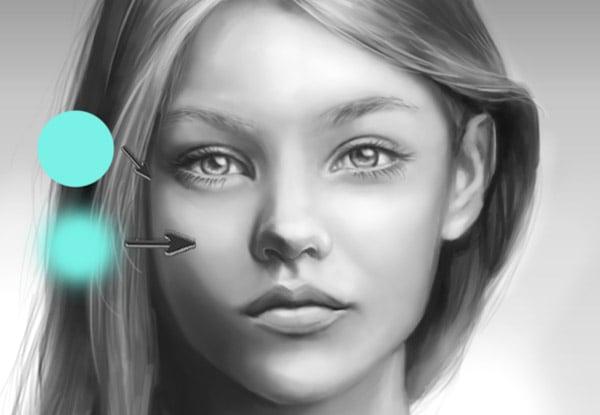 Study skin to understand blending in Photoshop