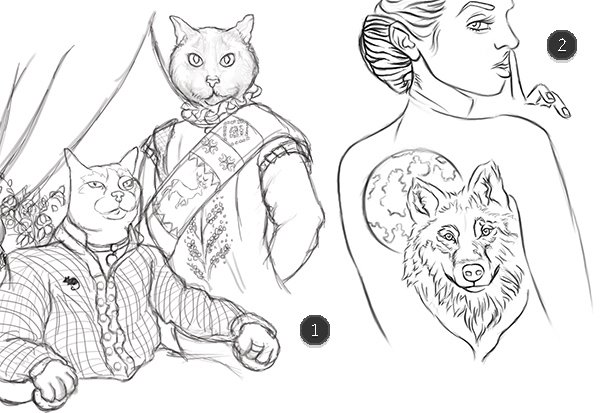 Drawing and Sketching in Adobe Photoshop with the Brush Tool