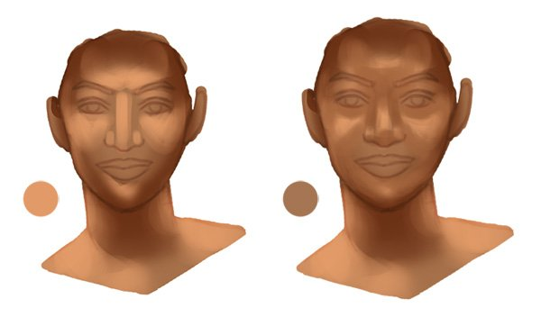 Painting Skin Tone in Adobe Photoshop