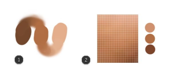Swatches Versus Color Picking From Photos