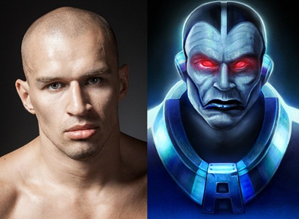 X-Men Apocalypse Photo Manipulation Before and After