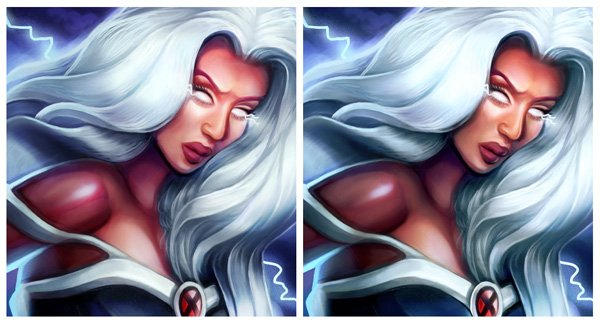 Painting a Tan with Color Burn in Adobe Photoshop