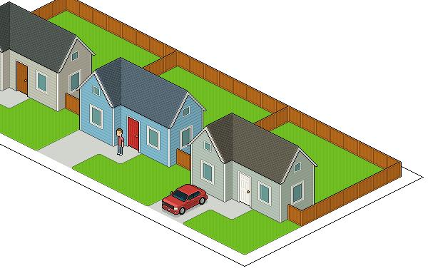Sidewalk added