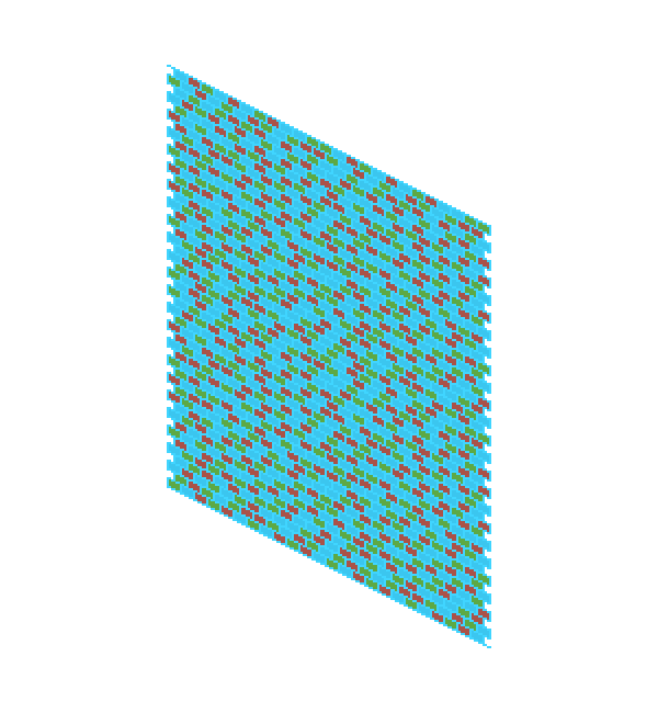 seeing tiled texture