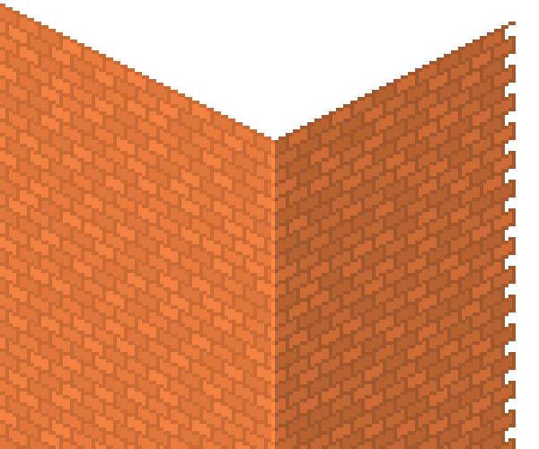 highlighting peak corner line