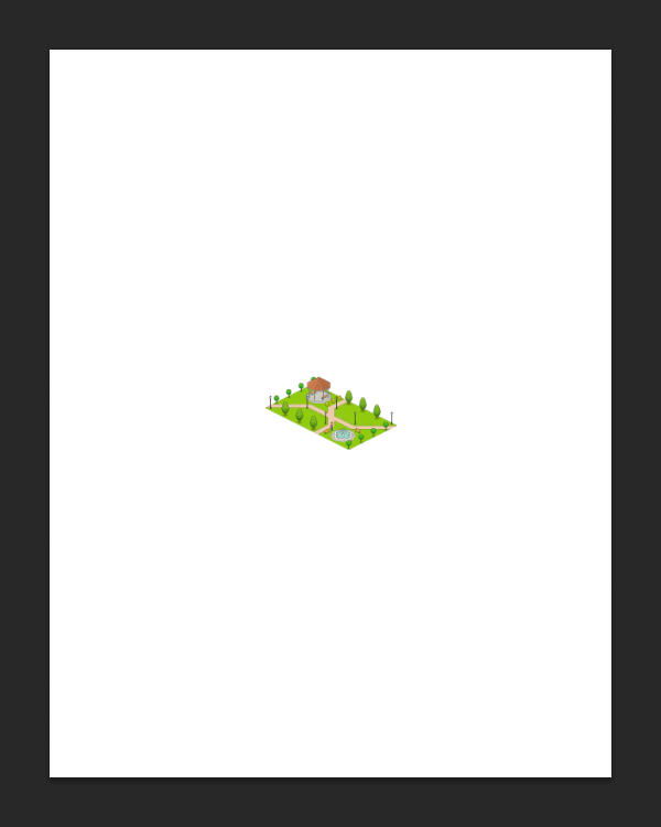 pixel art on the page