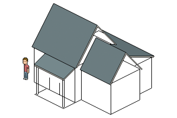 filling roof colors