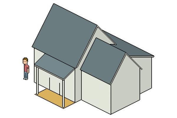 adding porch floor color