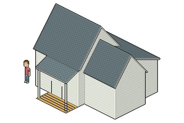 adding porch floor wood board texture