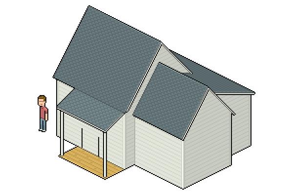 shading porch floor wood board texture