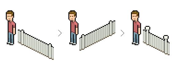 finishing the picket fence