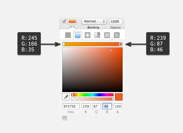 Cambiando los colores