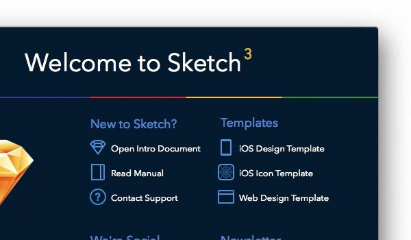 Welcome to Sketch