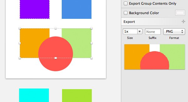 Export Group Content turned off