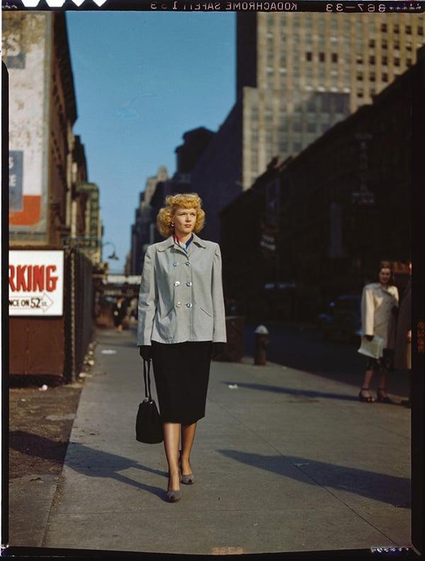 Portrait of Dottie Reid New York NY between 1946 and 1948