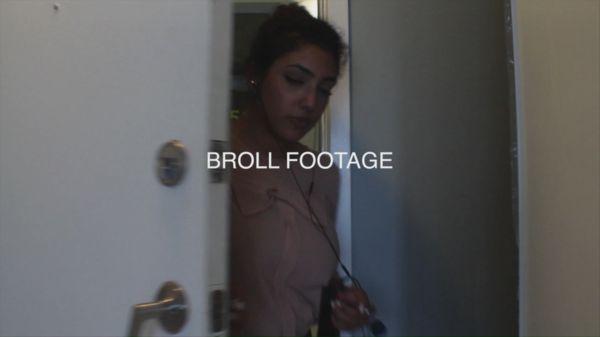 Coming through door