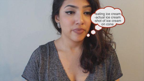 Thinking about icecream