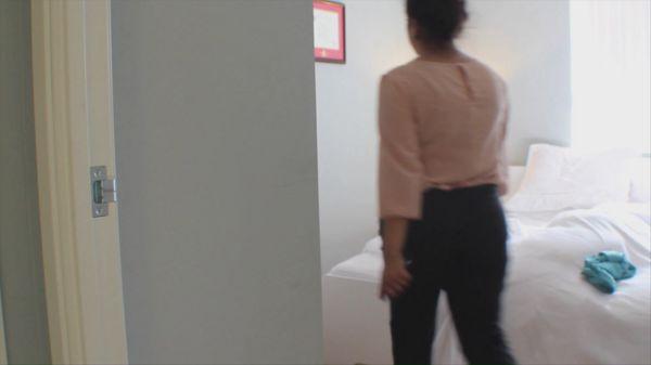 walking in room