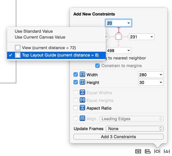 Adding Layout Constraints