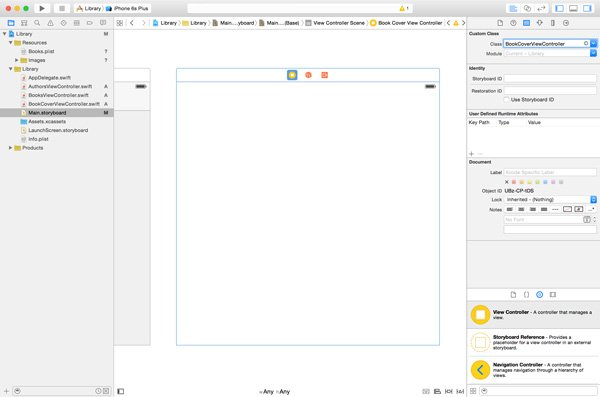 Adding a View Controller to the Workspace
