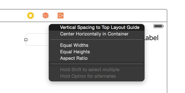 Adding Vertical Spacing to Top Layout Guide