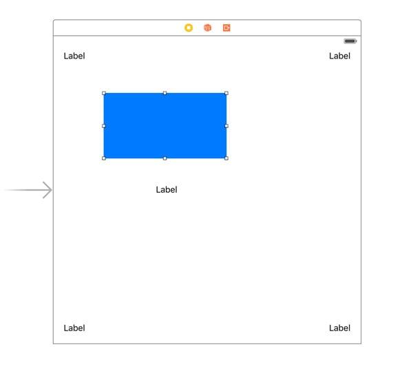 Adding a Blue Subview