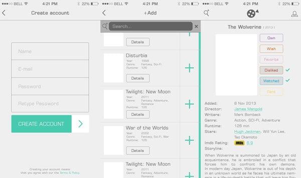iOwn UI App