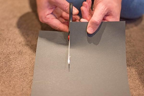 cut card into a strip
