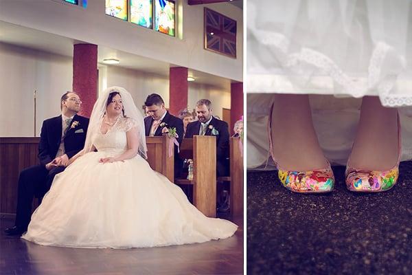 wedding diptych