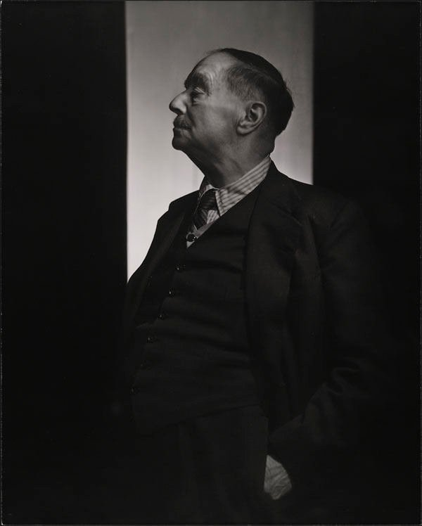 Portrait of HG Wells by Yousuf Karsh