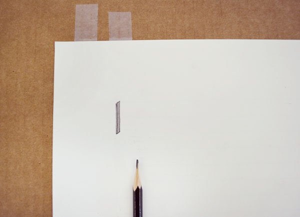 Vertical-Line-Drawing